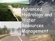 water resource engg
