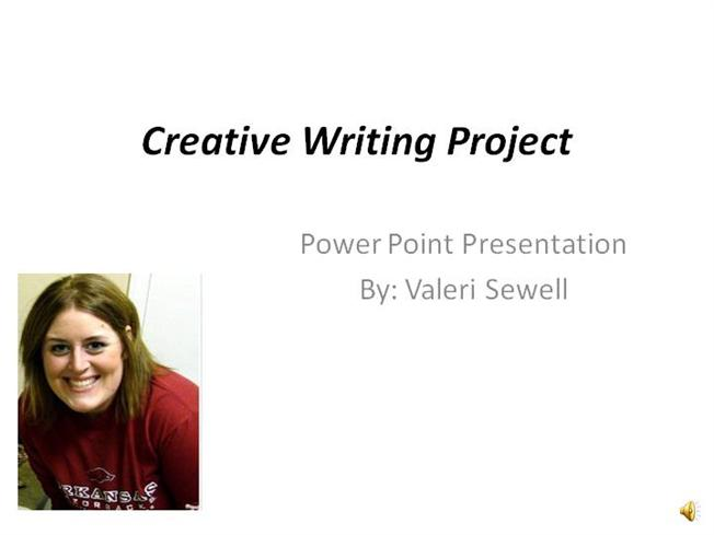 Creative writing project