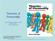 Theories of  Personality.ppt