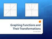 Graphing Functions and Their Transformations