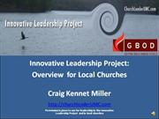 Innovative Leadership Project Overview for Local Churches