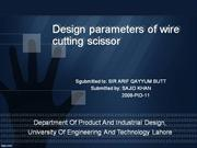 thesis design ppt