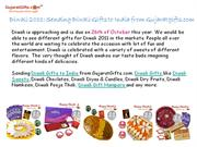 Sending Diwali Gifts to India from Gujaratgifts.com