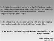 willow creek 2011 quote