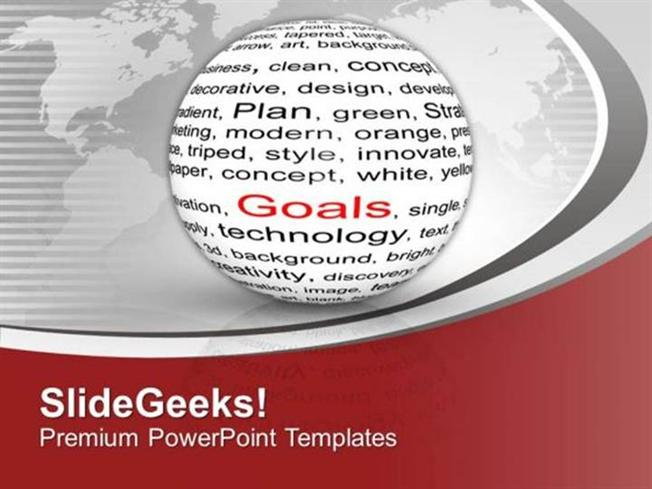 Information technology goal achievement background theme ppt related powerpoint templates toneelgroepblik Images