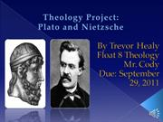 Plato and Nietzsche PowerPoint
