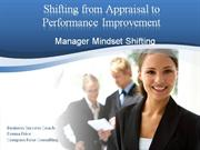 Shifting from Appraisal to Performance Improvement