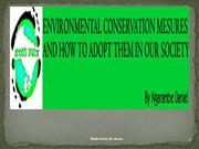 ENVIRONMENTAL CONSERVATION MEASURES BY GREEN YATRA