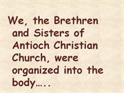 antioch church 150th anniversary history in pictures