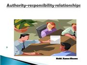 authority responsibility relationships