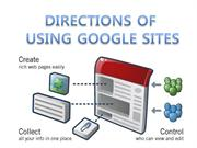 using google sites
