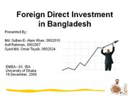 FDI Presentation