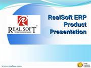 real soft erp product presentation