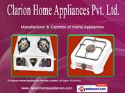 Double Burner Gas Stove by Clarion Home Appliances Private Limited