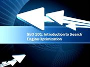 search engine optimasation course