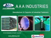 fasteners by a a a industries mumbai