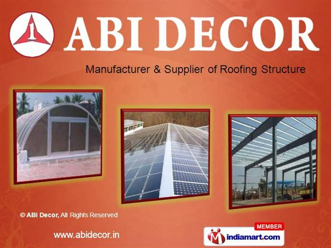 Polycarbonate And Galvalume Roofing By Abi Decor Chennai Authorstream