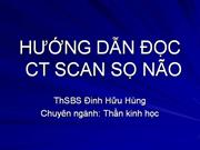 HUONG DAN DOC CT SCAN SO NAO