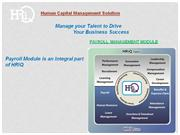 HRiQ Payroll Management System