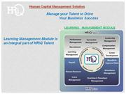 HRiQ Learning Management System