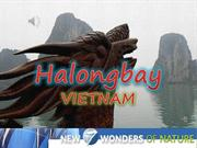 HALONGBAY -VIETNAM (vote for the NEW 7  WONDERS OF NATURE)