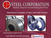 Cold Rolled &Amp; Annealed Steel Strips (C - 80) by Steel Corporation