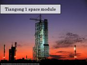 Tiangong 1 space module