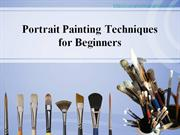 Portrait Painting Tips for Beginners
