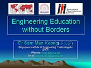engineering education without borders