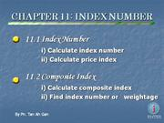 Add Maths Paper 2 Section C: Chapter 11 Index Number