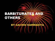 BARBITURATES AND OTHERS