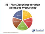 5S & Visual Management by Allan Ung, Operational Excellence Consulting