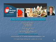 Private Lending Mortgages