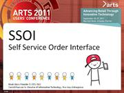 Self-Service Order Interface: A New ARTS Open Standard