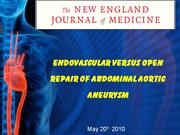 Endovascular versus Open Repair of Abdominal Aortic. Ashish Jai Kishan