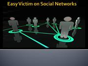 easy ways to be a victim on social networking