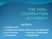 Non Cooperation Movement