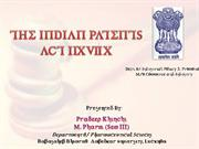 indian patent act 1970