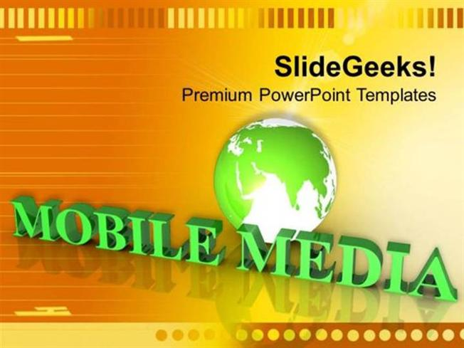 Strategy Multimedia Global Technology Ppt Template Powerpoint Template