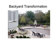 Backyard Transformation