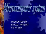 seminar on microcomputer