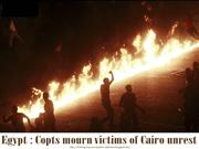 Egypt Copts mourn victims of Cairo unrest