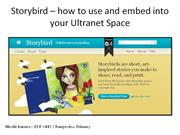 Storybird and the Ultranet