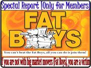 Fat Boys & You - How to make profit in these market conditions