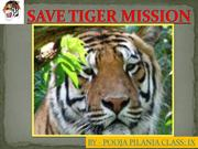 SAVE TIGER MISSION