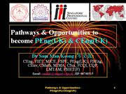 pathways & opportunities to become peng(uk) and ceng(uk)