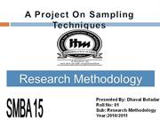 RM Project Final Dhaval 01