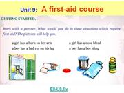 English 8 - Unit 9 - A first-aid course