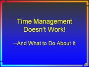 time mgmt doesnt work online intro 1.7