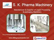 filling machines by s. k. pharma machinery pune